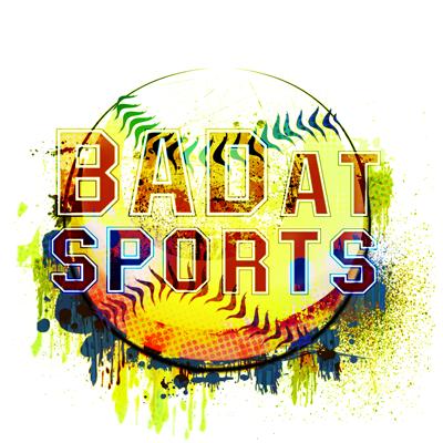 Bad at Sports Drip Ball Logo