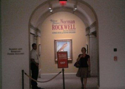Norman Rockwell Exhibit at the Washington DC Portrait Gallery
