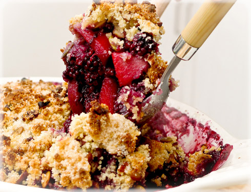 Two Fruit Crumble
