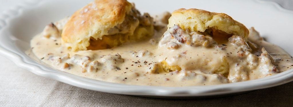 Southern-Biscuits-and-Sausage-Gravy