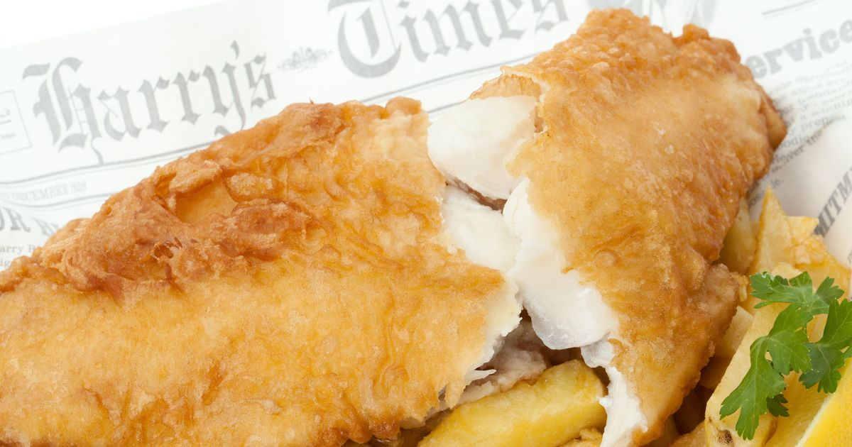 Welsh Beer Batter Fish & Tartar Sauce