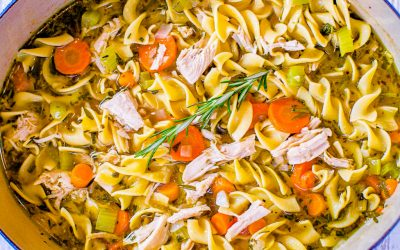 30-Minute Turkey Noodle Soup