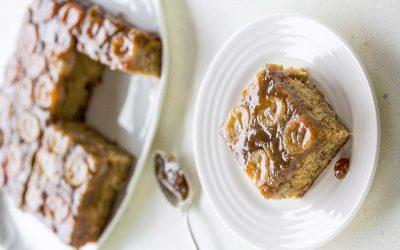 Upside-Down Banana Bread Cake