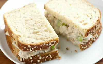 Hudgens Irish Tuna Fish Salad Sandwich