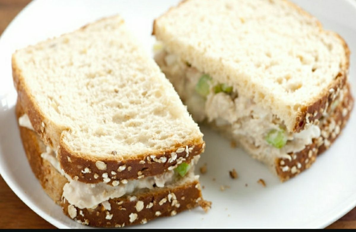 Hudgens Irish Tuna Fish Salad Sandwich